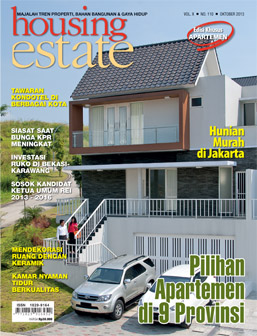 Cover Majalah Housing Estate Edisi Oktober 2013