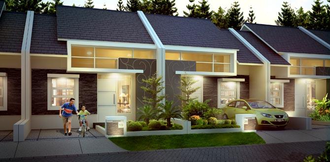 Metland Tranyogi : salah satu perumahan di Cileungsi yang akan diuntungkan tol JORR 2 ruas Cimanggis-Cibitung