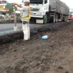 Perbaikan Jalan di Jalur Pantura