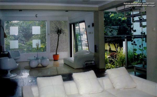 Bukaan-bukaan lebar mempercepat perputaran udara dalam ruangan
