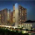 Sentul Tower, salah satu proyek apartemen yang sedang dibangun di Sentul City