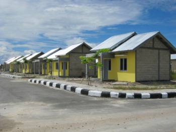 Salah satu perumahan bersubsidi yang dibangun Perumnas