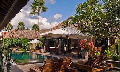 Vila di Bali (Ilustrasi)