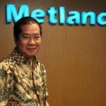 Nanda Widya, Presiden Direktur Metland