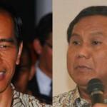 Jokowi (kiri) & Prabowo (kanan)