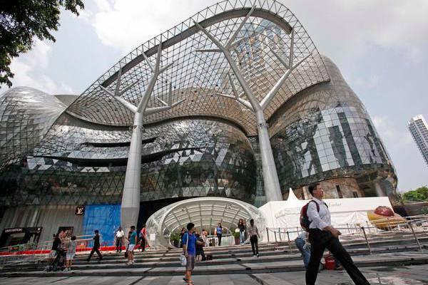 Salah satu mall di Singapura