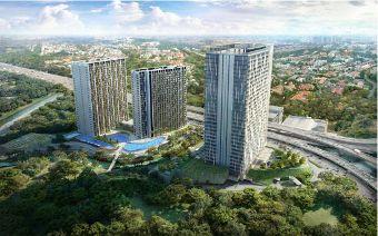 Apartemen di Jl TB Simatupang, Jakarta Selatan, bisa dibangun lebih optimal karena koefisien lantai bangunan (KLB)-nya tinggi.