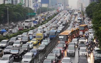 Jakarta kota termacet di dunia