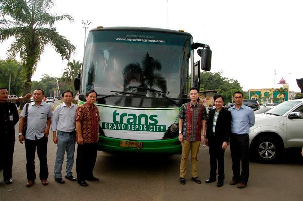 Trans Grand Depok City Layani Rute Depok Monas