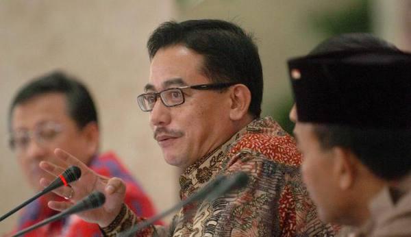Menteri Agraria dan Tata Ruang, Ferry Mursyidan Baldan
