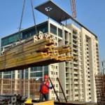 Pembangunan Apartemen (Ilustrasi)