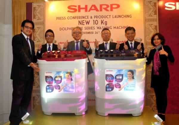 Launching mesin cuci Dolphinwave Series di Jakarta