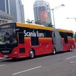 Ilustrasi: Bus Transjakarta