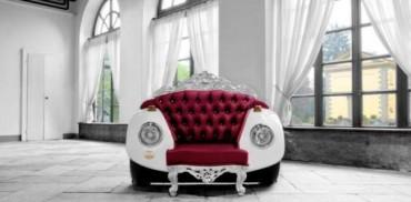 Kursi Unik dan Glamour oleh Zac Glamour