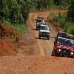 Ilustrasi: Jalan di daerah perbatasan