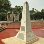 Tugu Proklamasi di Jl Proklamasi, Jakarta Pusat, menyerupai bentuk tugu obelisk
