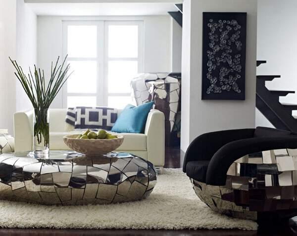 The Crazycut, Furniture Mewah Dengan Sentuhan Metalik