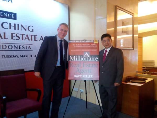Buku berjudul The Millionaire Real Estate Agent