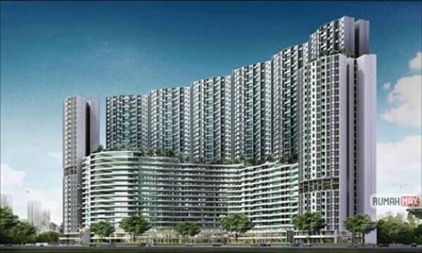 Salah satu apartemen mewah di Jakarta