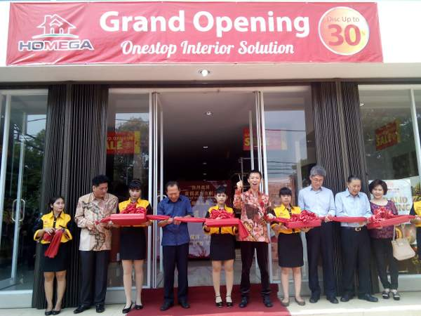 Grand Opening Homega di Pluit, Jakarta Utara