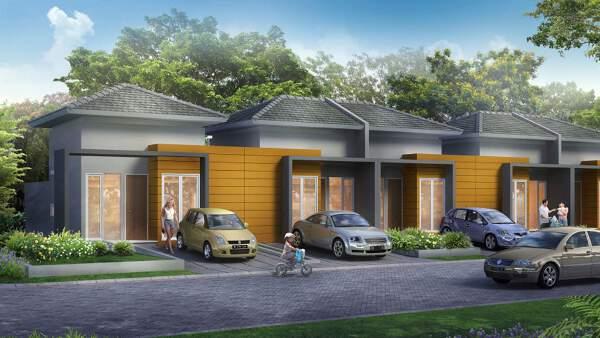Rumah tipe 35 di CitraLake Sawangan