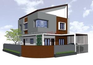 rumah tumbuh dua lantai