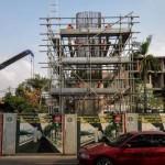 Pembangunan jalan layang TransJakarta Ciledug-Tendean
