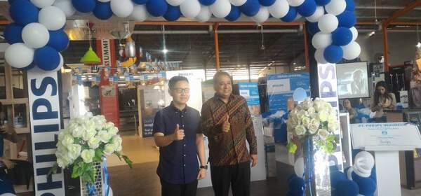 Grand Opening Philips Home Laghting di Manado