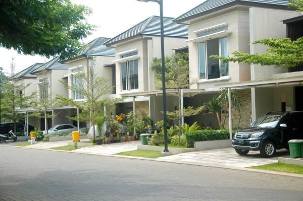 Serenia Hills salah satu perumahan menengah atas di Jakarta Selatan