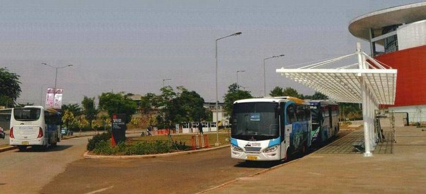 Ilustrasi : Bus Trans Bintaro