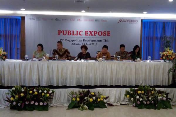 Public Expose Megapolitan di Jakarta