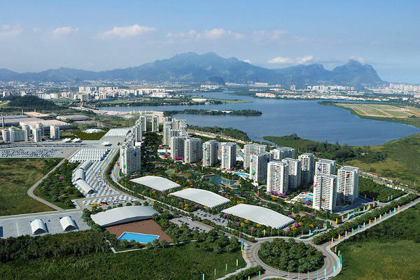 Mengintip Kampung Atlit Olimpiade Rio