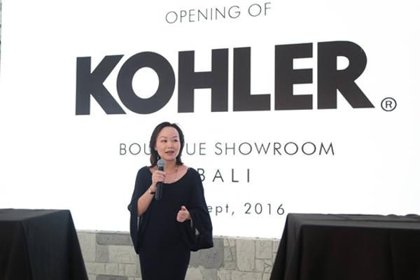 Angel Yang, Vice President Kitchen & Bath Southeast Asia & Australia Kohler