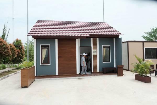 Rumah Conwood Bisa Dibangun 7 Hari