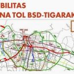Peta Tol Serpong Balaraja