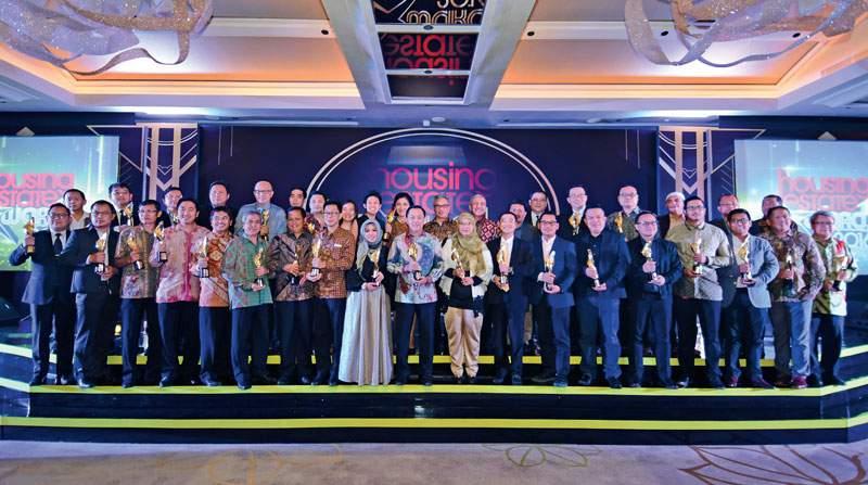 Para penerima HousingEstate Awards 2016