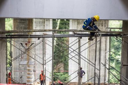 Perbaikan Jembatan Cisomang