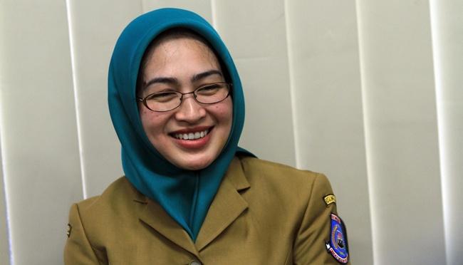 Walikota Tangerang Selatan (Tangsel), Banten, Airin Rachmi Diany