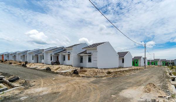 Ilustrasi : Progress pembangunan rumah sederhana di Maja | Sumber : Media Sosial