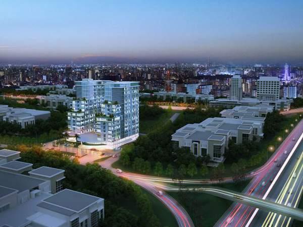 Apartemen Amazana : Lokasinya paling dekat dengan pintu tol Jelupang di ruas tol Serpong-Kunciran-Bandara