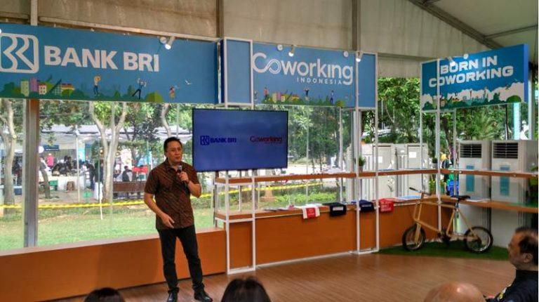 Coworking Indonesia-BRI Kerjasama Dukung Ekonomi Kreatif