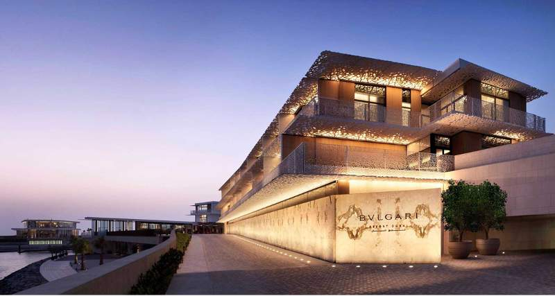 Bulgari Resort Dubai (Foto: Arabian Business)