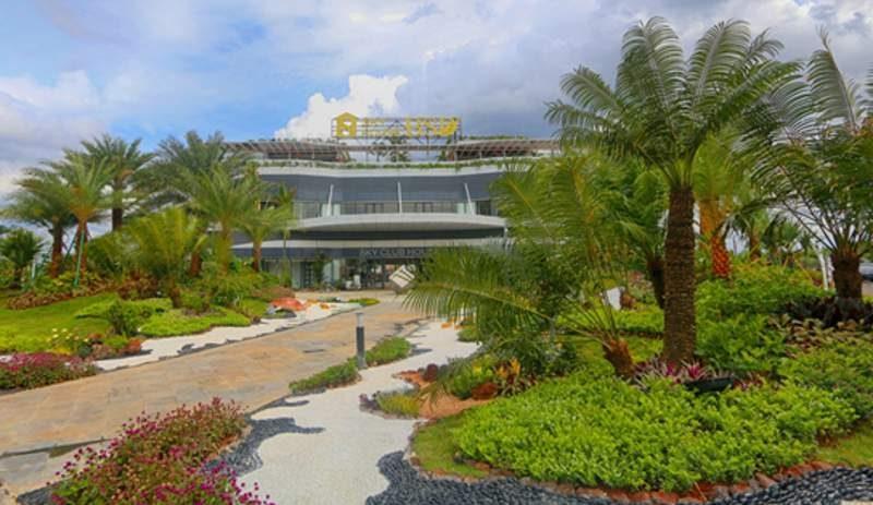 Club house dan theme park seluas 2.363 m2 di kantor pemasaran Sky House BSD+ di BSD City, Serpong, Tangerang (Banten), resmi dibuka Sabtu (2/12/2017). (Foto: Dok. Sky House)