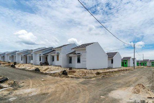 Ilustrasi : Progress pembangunan rumah sederhana di Maja | Sumber : citramaja.com