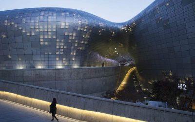 Dongdaemum Design Plaza, Seoul. (Foto: Bloomberg)