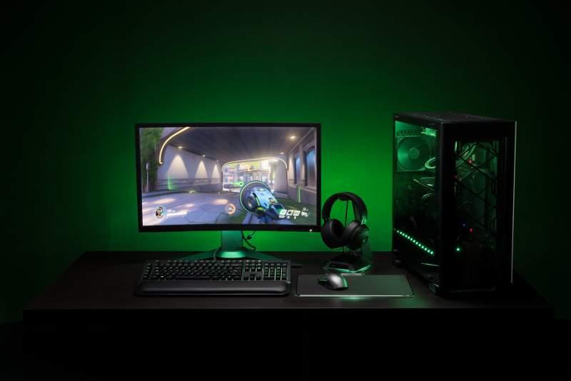 Philips Hue Sync bermitra dengan Razer mensinkronkan pencahayaan dengan konten game. (Foto: Dok. Philips Lighting)