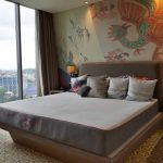 Kasur premium merek Mimpi dalam show unit di Hotel Double Tree by Hilton, Jakarta. (Foto: HousingEstate/Diyah)