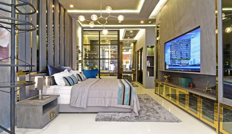 Show unit apartemen Carstensz Residence yang memperlihatkan satu unit modul seluas 35 m2 (gross) atau tipe studio. (Foto: HousingEstate/Susilo Waluyo)