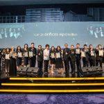 Century 21 Meluncurkan aplikasi One21 dalam acara One21 Annual Award and Recognitions Night 2018 pada akhir Februari lalu. (Foto : Dok. Century21 Indonesia)