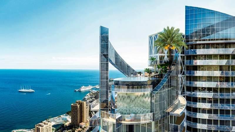 La Tour Odeon, Monaco, apartemen termewah di dunia. (Foto: Forbes)